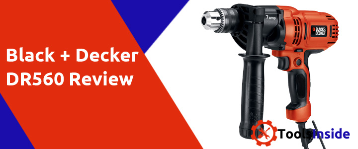 Black & Decker DR560 review