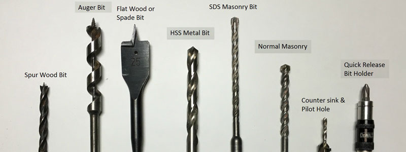 different-types-of-drill-bits