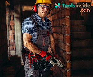 working-with-a-hammer-drill