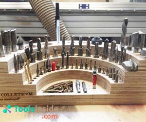 drill bits rack