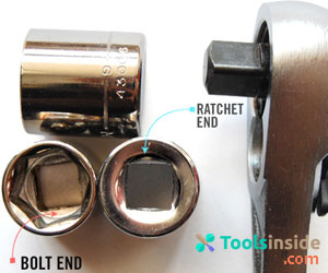 Connecting the Socket on the Ratchet