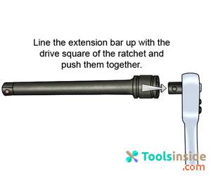 ratchet-extension-bar