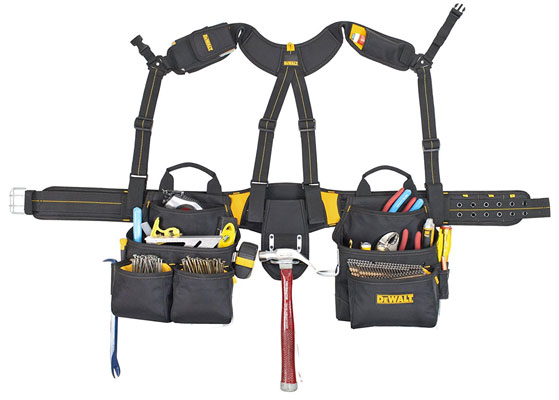 DEWALT DG5617 20-Pocket Pro Framer's Combo Apron Tool Belt Review